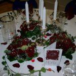 Hochzeit-Tischdecko